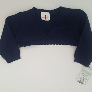 NWT Cat & Jack Cropped Cardigan Sweater